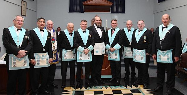 Freemasons of SE NSW - 2nd Degree in Cooma